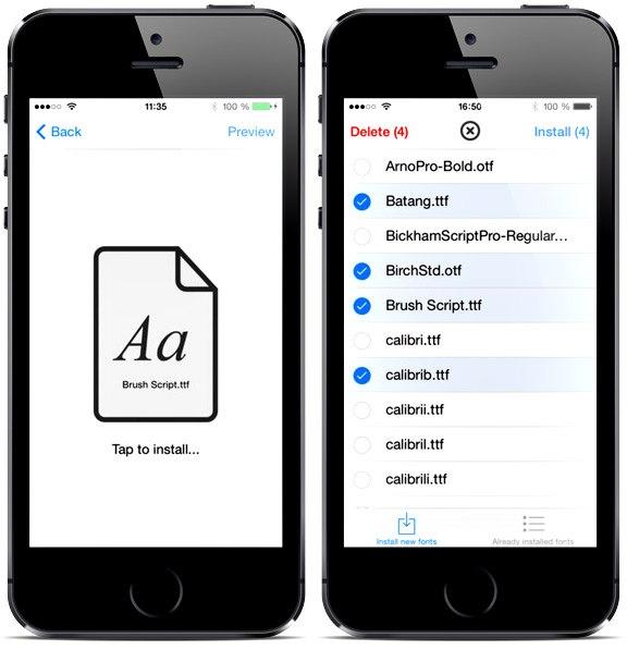 Как в айфоне сделать крупный шрифт
